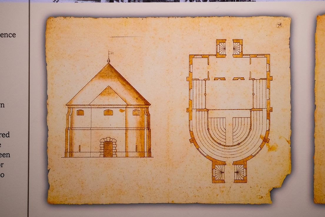 XUL Architecture - Globe Theatre - Plans