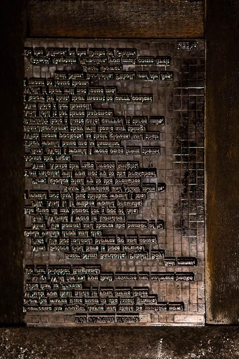 XUL Architecture - Globe Theatre - Letterpress