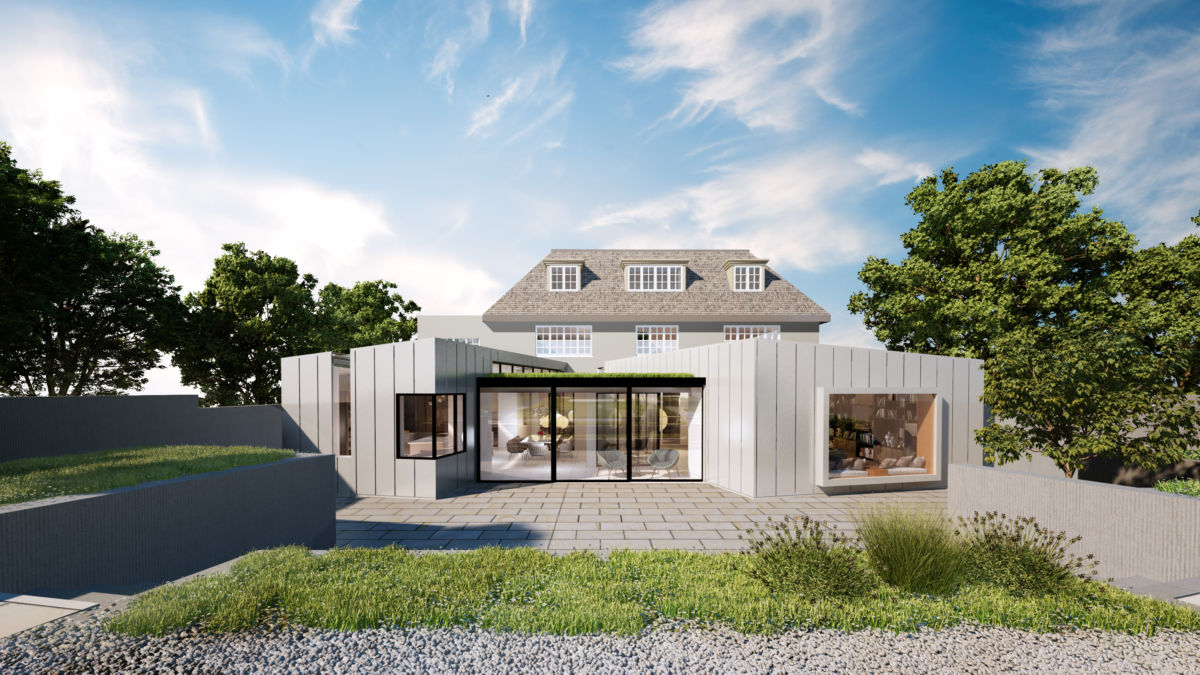 Hocroft House, Front External View