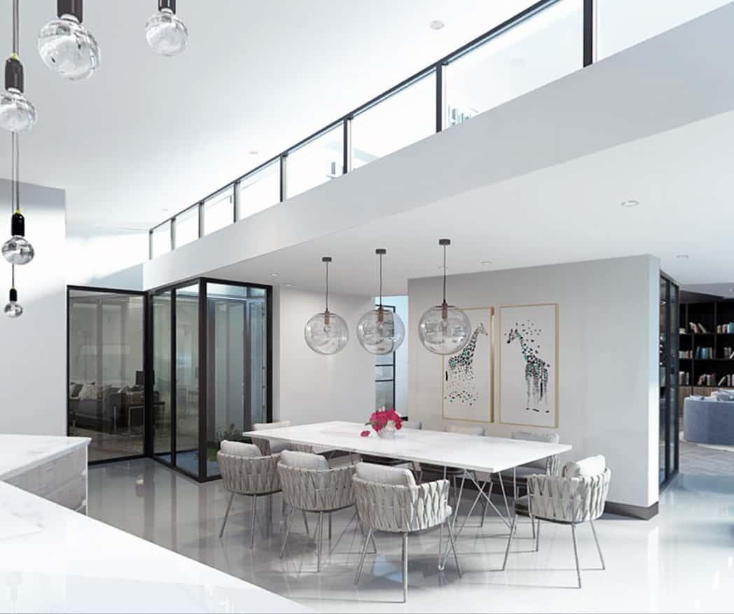 CGI Internal View, Dining Area